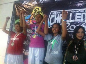 Instituto Normal México semillero de atletas de Taekwondo