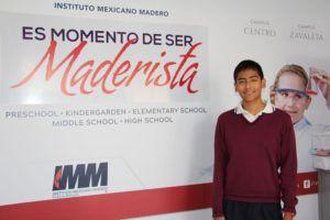 Alumno IMM gana concurso y obtiene viaje al CERN