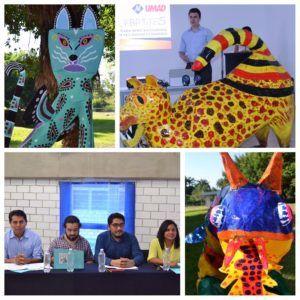 Presentación de Alebrijes monumentales en el marco de la Expo creatividad 2017