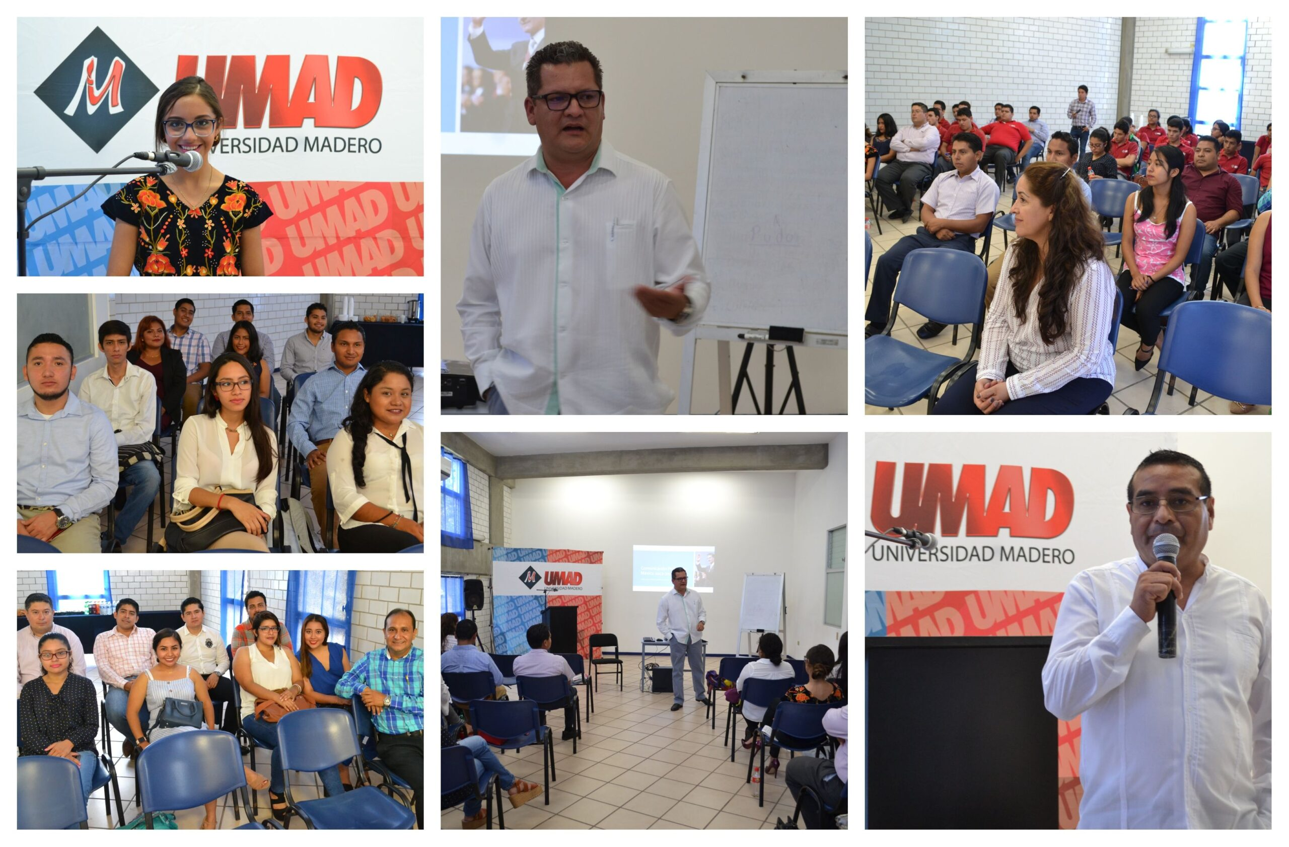 Alumnos de Derecho y Ciencias Políticas de UMAD Papaloapan participan en ciclo de conferencias