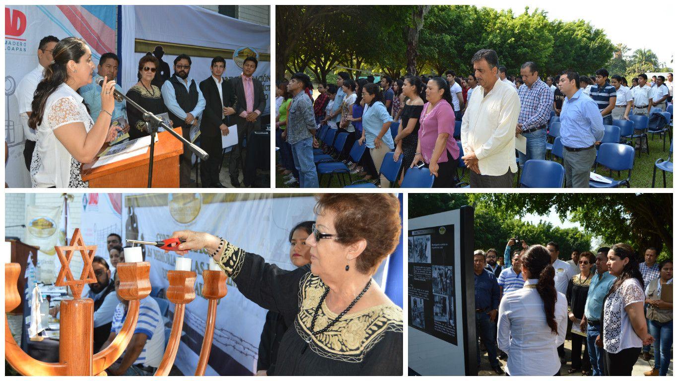 UMAD Papaloapan cede de la Ceremonia Internacional en conmemoración de las víctimas del Holocausto