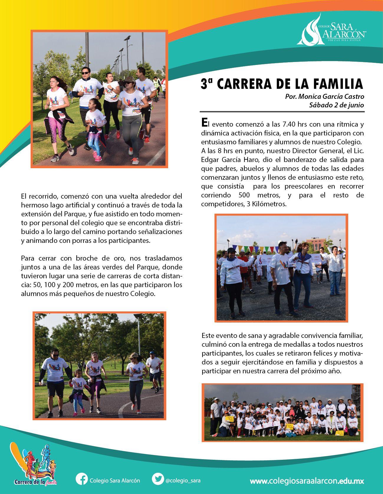 3° CARRERA DE LA FAMILIA