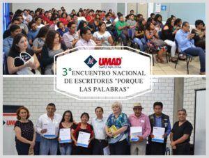 """UMAD Papaloapan, subsede del 3° Encuentro Nacional de Escritores """"Porque las palabras"""""""
