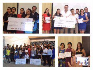 Alumnos de UMAD Papaloapan obtienen 2 Primeros lugares y varias menciones honoríficas en los Premios a la Juventud Tuxtepecana 2017