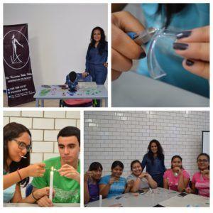 Diseñadora Tuxtepecana imparte Taller de Accesorios PET a alumnos de UMAD Papaloapan