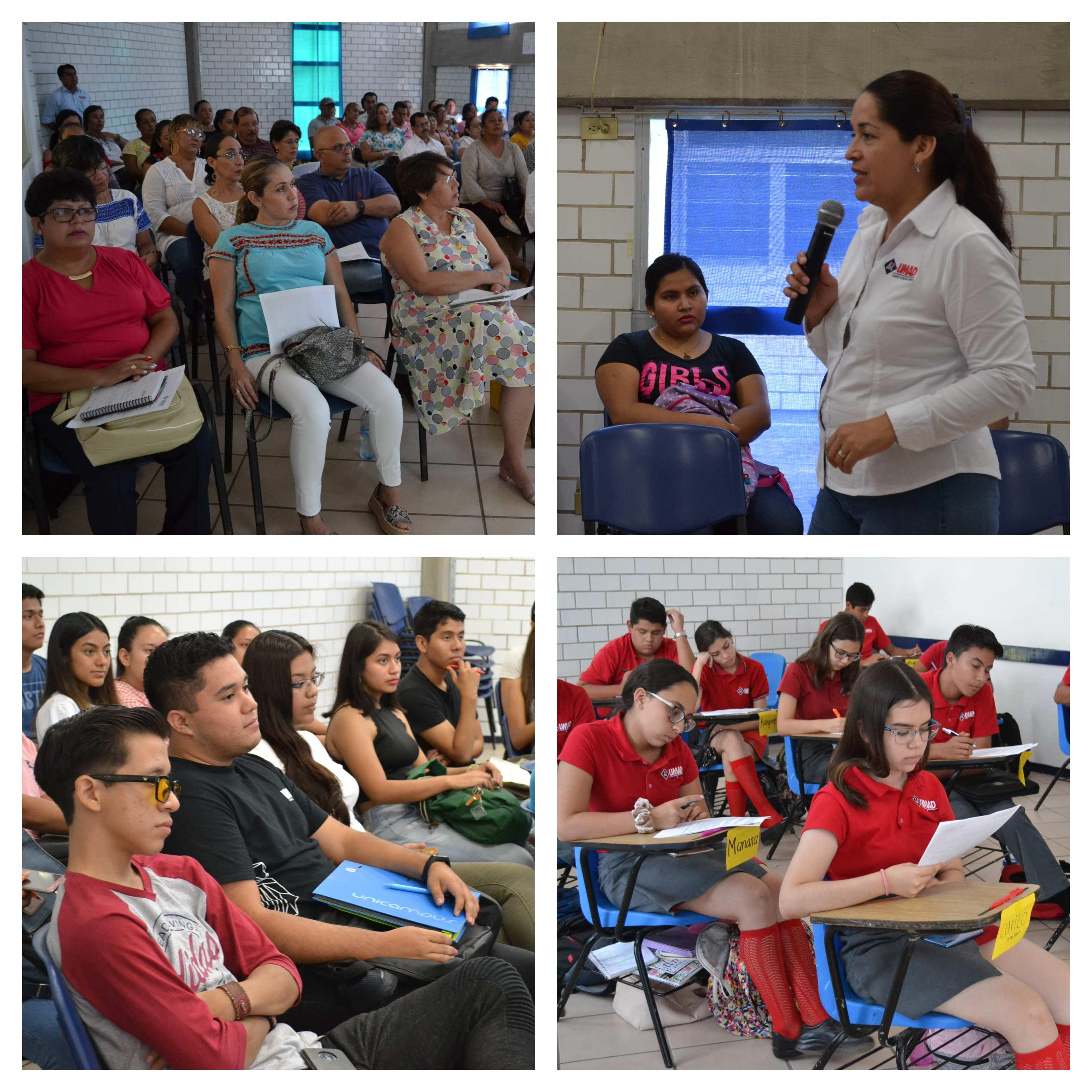 Se impartió curso de inducción 2019 para padres y alumnos en UMAD Papaloapan