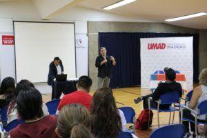 Ricardo Arnaíz, fundador de ANIMEX dio conferencia en UMAD