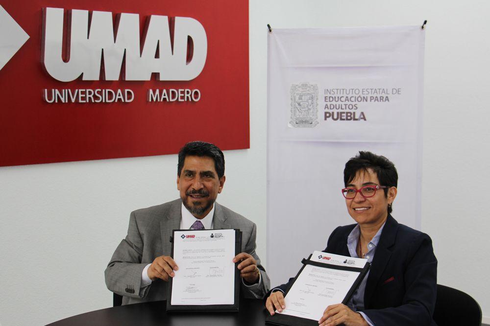 Alumnos UMAD podrán colaborar con el IEEA Puebla