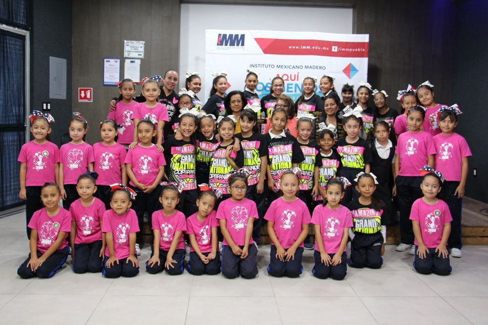 Cheerleaders de IMM Zavaleta destacan a nivel nacional
