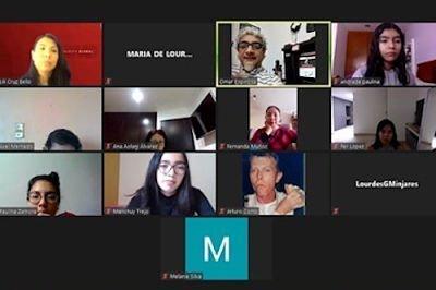 Presidente de Asociación de Locutores charla con alumnos UMAD